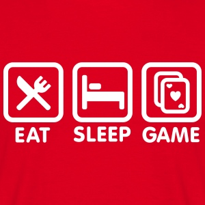 Eat - Sleep - Game Tee shirts - T-shirt Homme