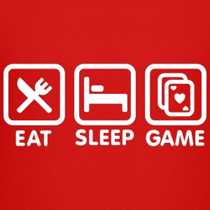 Eat - Sleep - Game Tee shirts - T-shirt Premium Ado