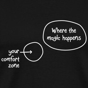 Where the magic happens, Sport, Laufen T-Shirts - Männer Premium T-Shirt