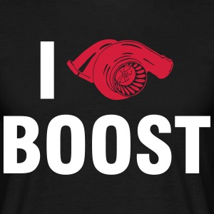 I love BOOST T-skjorter - T-skjorte for menn