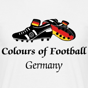 Football Colours Germany - Men's T-Shirt