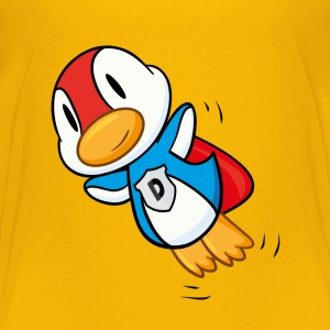 Duck - Man of steel - man of feathers Shirts - Kids' Premium T-Shirt