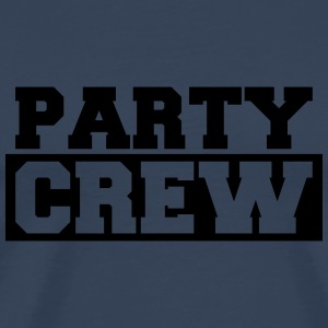 Party Crew T-shirts - Mannen Premium T-shirt