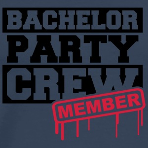 Bachelor Party Crew Member T-Shirts - Men's Premium T-Shirt