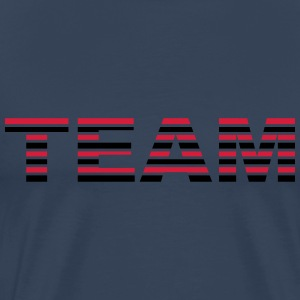 Team Stripes Camisetas - Camiseta premium hombre
