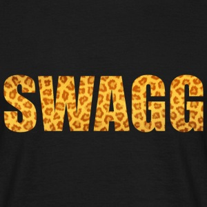 Swagg Leopard Gold Tee shirts - Tee shirt Homme