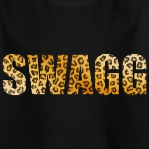 Swagg Leopard Wild Tee shirts - T-shirt Enfant