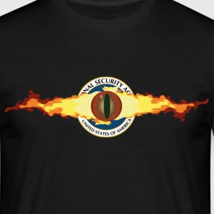 NSA IS WATCHING YOU! T-Shirts - Männer T-Shirt
