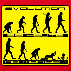 Evolution mal anders T-Shirts - Frauen T-Shirt