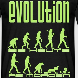Evolution mal anders T-Shirts - Männer T-Shirt