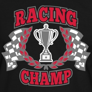 Racing Champ T-shirts - Mannen contrastshirt