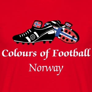 Football Colours Norway - Men's T-Shirt