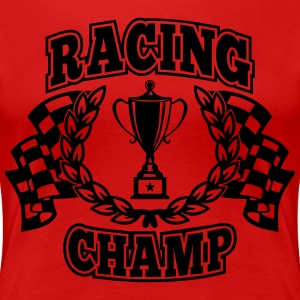 Racing Champ T-Shirts - Frauen Premium T-Shirt