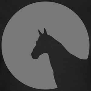 Horse head circle moon sun 1c T-Shirts - Women's T-Shirt