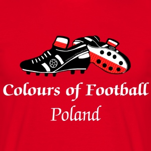 Football Colours Poland - Men's T-Shirt