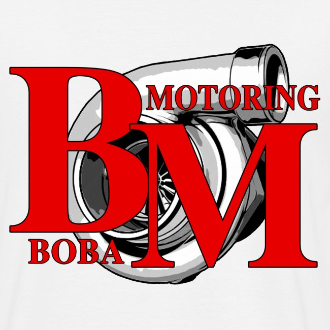 Boba-Motoring Fan-Shirt Rückseite
