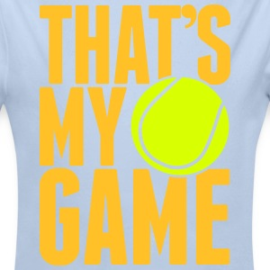 tennis - that's my game Hoodies - Longlseeve Baby Bodysuit