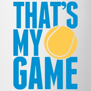 tennis - that's my game Flessen & bekers - Mok