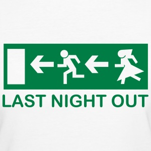 Bachelor's last night out T-shirts - Ekologisk T-shirt dam