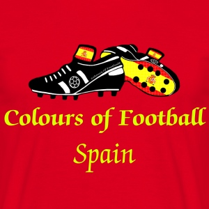 Football Colours Spanish - Men's T-Shirt