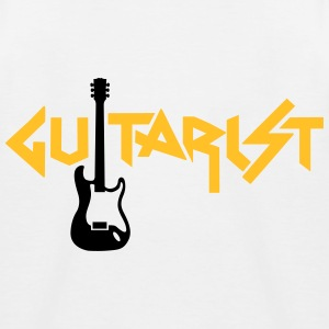 guitarist Shirts - Kids' Baseball T-Shirt