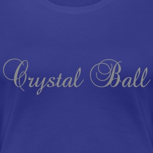 Crystal Ball glitzer - Frauen Premium T-Shirt