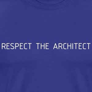 Architect - blue_iso - Männer Premium T-Shirt