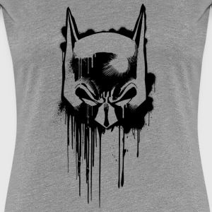 Batman Maske T-Shirt für Frauen , Superhelden T-Shirt - Frauen Premium T-Shirt