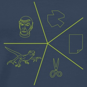 Rock paper scissors lizard spock tee shirt - Men's Premium T-Shirt
