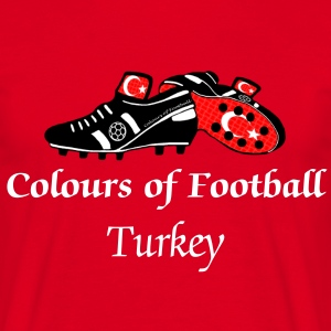 Football Colours Turkey - Men's T-Shirt