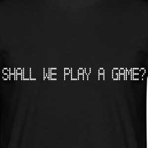Shall we play a game? (Wargames) - T-shirt herr