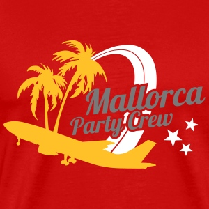 Mallorca Party Crew  T-Shirts - Men's Premium T-Shirt