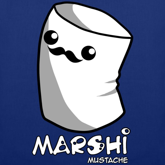 Marshi Moustache Like A Sir by Chosen Vowels - Beutel