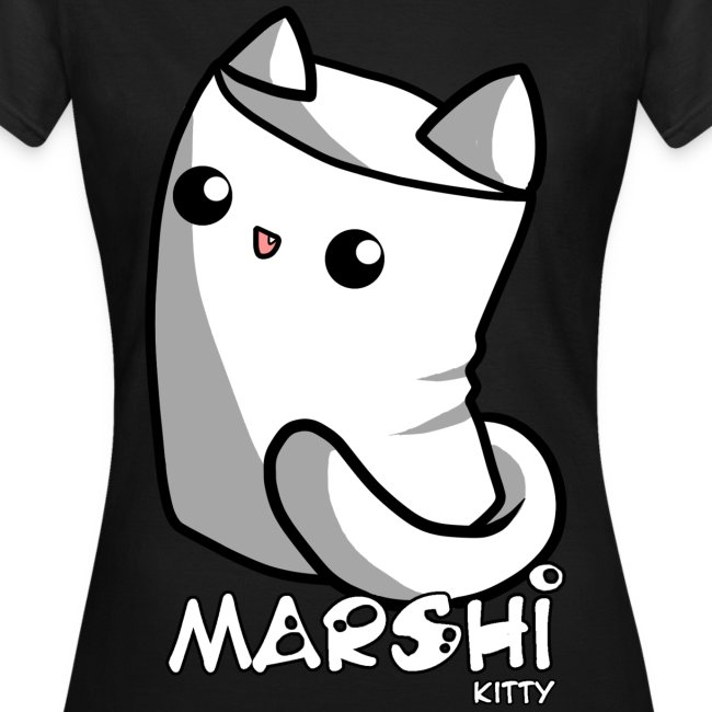 Marshi Kitty Marshmallow by Chosen Vowels - Shirt GIRLS