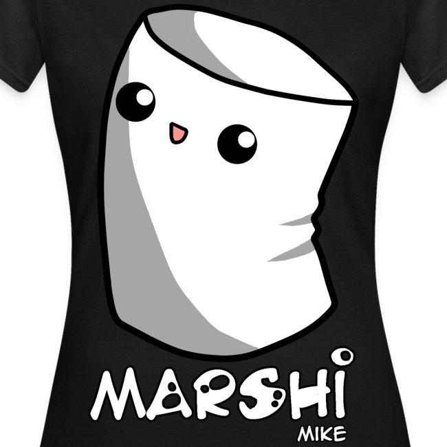Marshi Mike Marshmallow by Chosen Vowels - Shirt Girls
