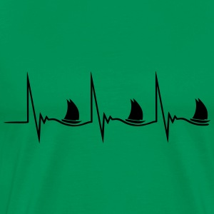 Sailing Heartbeat Tee shirts - T-shirt Premium Homme