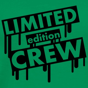 Limited Edition Crew Graffiti T-skjorter - Premium T-skjorte for menn