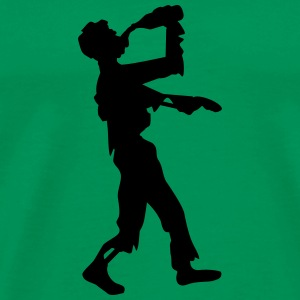 Drunken Party Zombie T-shirts - Mannen Premium T-shirt