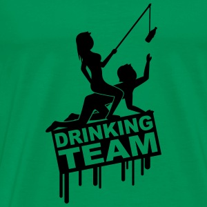 Drinking Girls Team T-Shirts - Männer Premium T-Shirt