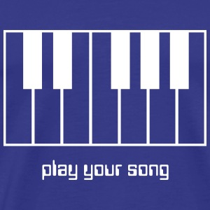 Play your song - Männer Premium T-Shirt