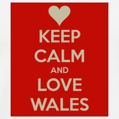 Keep Calm And Love Wales T-Shirt