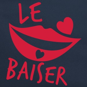le baiser french for the kiss Bags & backpacks - Retro Bag