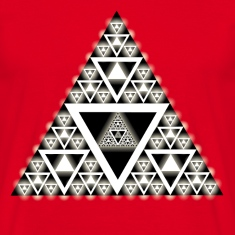 Hypnotic-Triangle T-Shirts