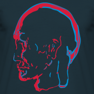 Design ~ Weldroid - De Profundis Men's T-Shirt (Deep Blue)