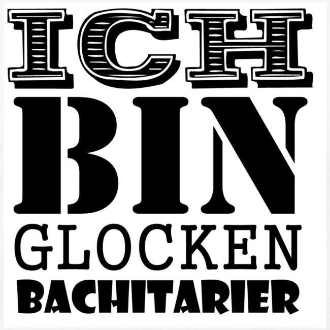 """Herren T-Shirt weiß """"Ich bin Glockenbachitarier"""""""