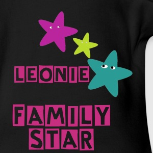 LEONIE Family Star - Baby Bio-Kurzarm-Body