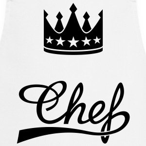 Crown King Queen Princess Emperor boss Chef Tabliers - Tablier de cuisine