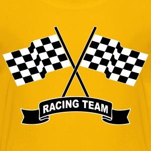 racing team flags