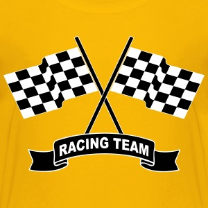 racing team flags Shirts - Teenage Premium T-Shirt