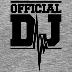 Official DJ Music Pulse Camisetas - Camiseta premium hombre